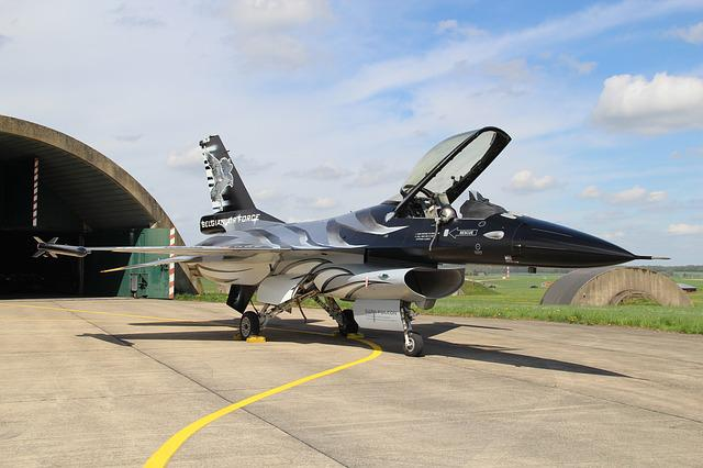 F16, Belgian Air Force, Fighter, Aircraft