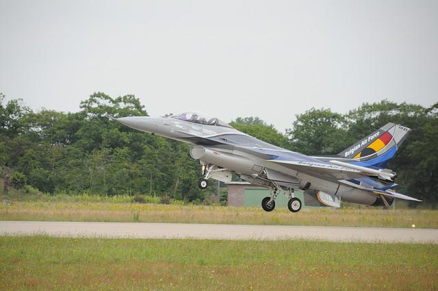 Aircraft, Airport, Military, Transport System, F16