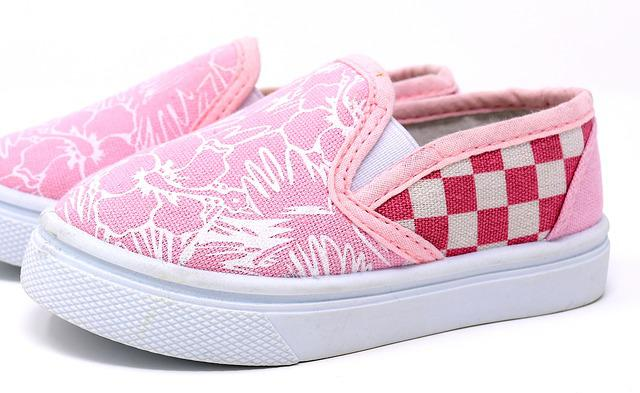 Children's Shoes, Fabric, Small, Shoe