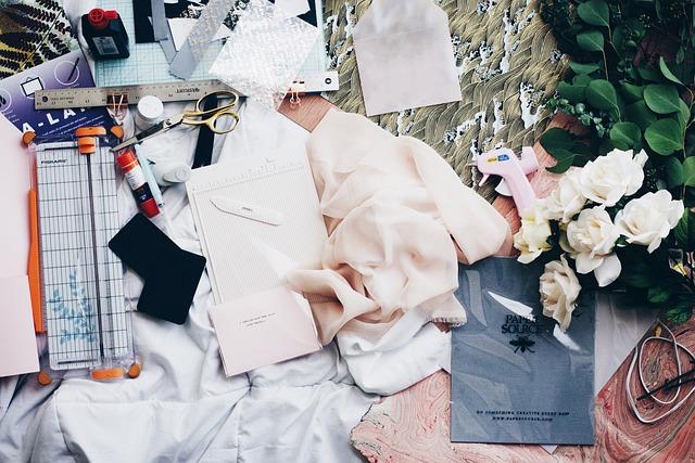 Cloth, Fabrics, Fashion Design, Table, Work