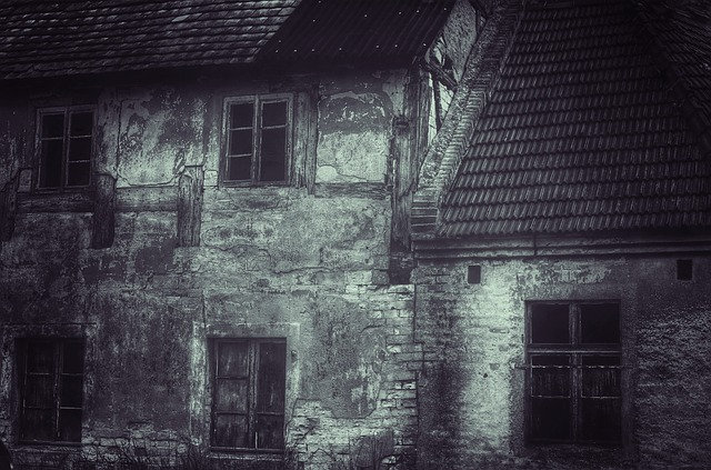 Home, Old, Ailing, Facade, Lapsed, Building, Ruin