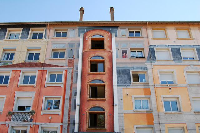 Apartments, Architecture, Balcony, Building, Facade
