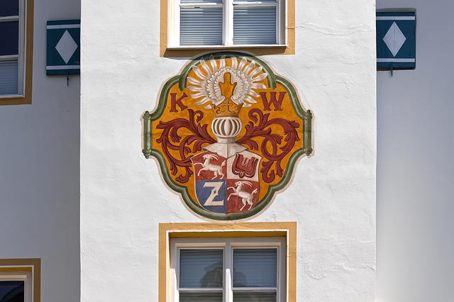 Coat Of Arms, Facade, Architecture, Building