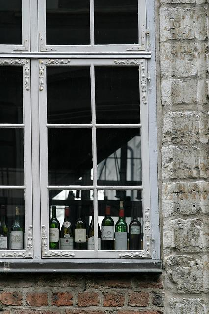 Window, Wine, Building, Facade, Architecture