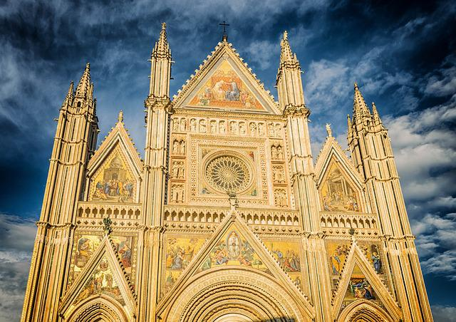 Dom, Cathedral, Italy, Gloss, Gloria, Facade