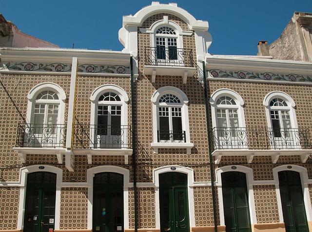 Portugal, Facade, Azuleros, Ceramic