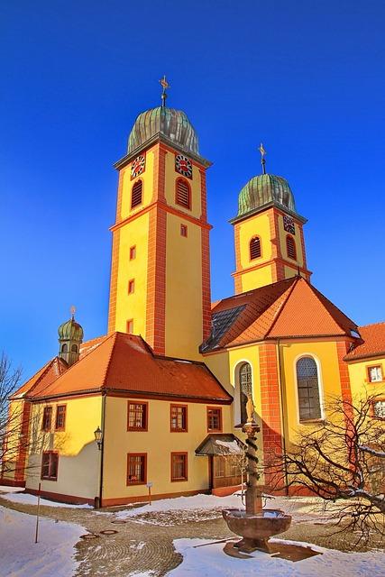 Church, Steeple, Monastery, Monastery Church, Facade