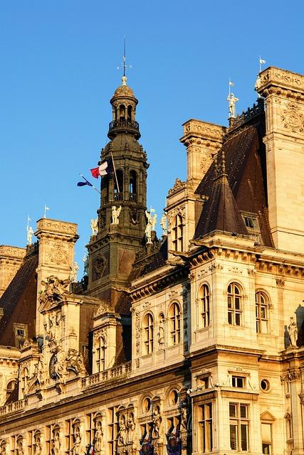 Paris, Facade, Architecture, France, Building, Ornament
