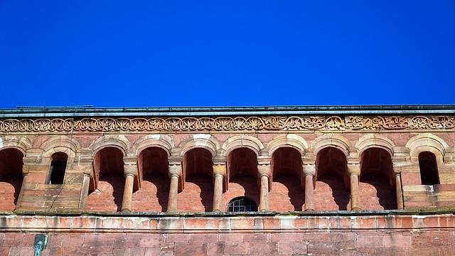 Arcades, Rhaeto Romanic, Architecture, Facade, Dom