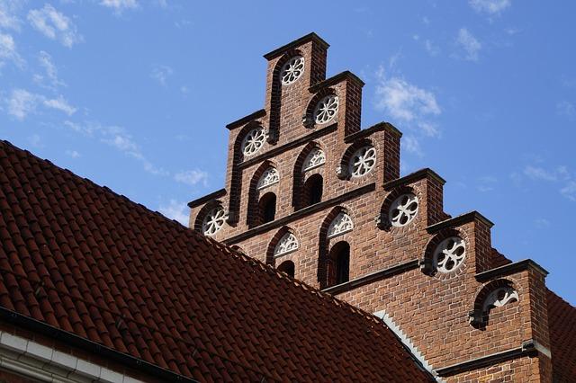Malmö, Sweden, Sky, Town Home, Facade, Building