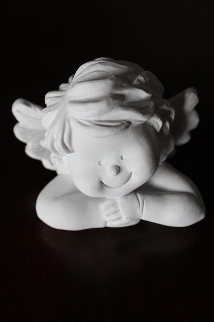 Angel, Fig, Face, Christmas, Angel Figure, Decorative