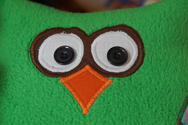 Face, Owl, Sewn, Bird, Bill, Soft Toy, Teddy Bear