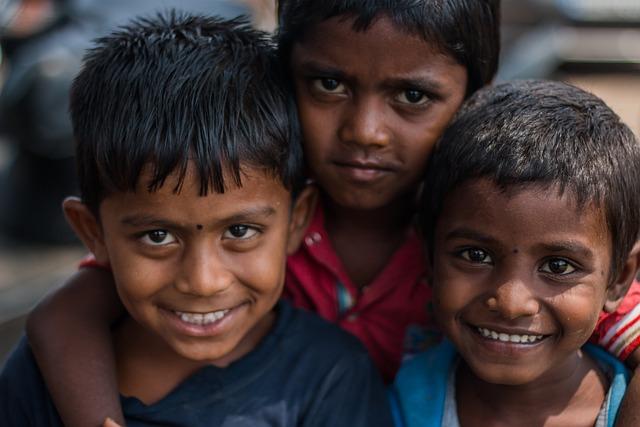 Kids, Children, Face, Smile, Childhood, Boy, People