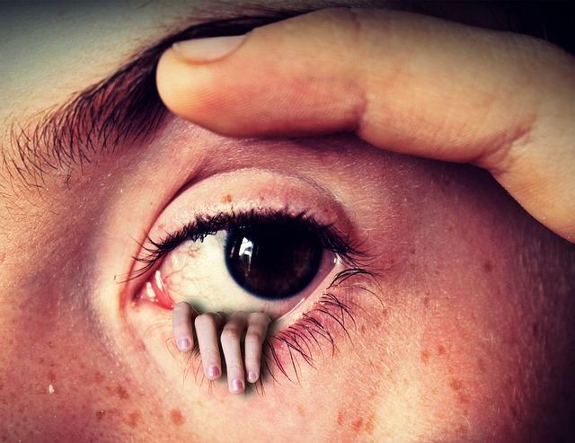 Eye, Hand, Fantasy, Horror, Finger, Face, Eyebrow