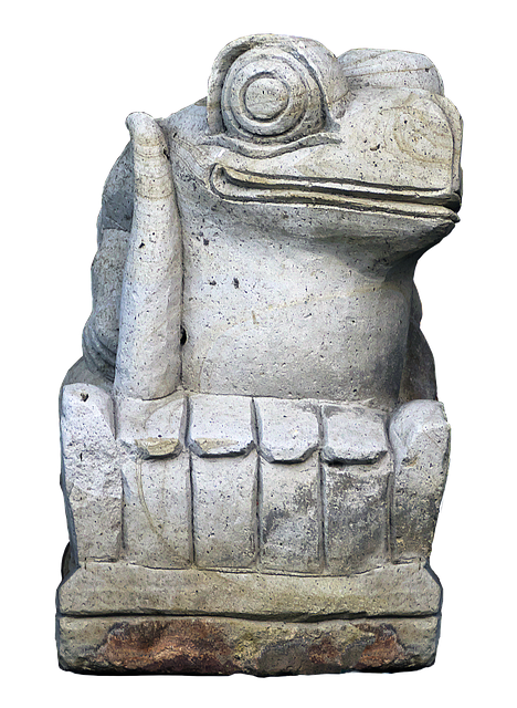 Figure, Frog, Gnome, Face, Ceramic, Sculpture, Statue