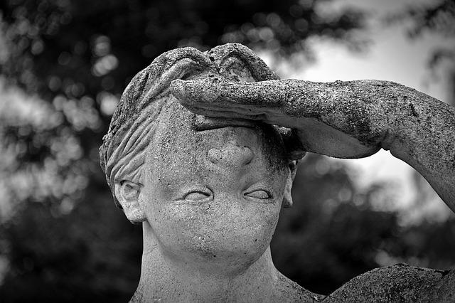 Statue, Face, Wrong, Twisted, Man, Fig, Sculpture, Art