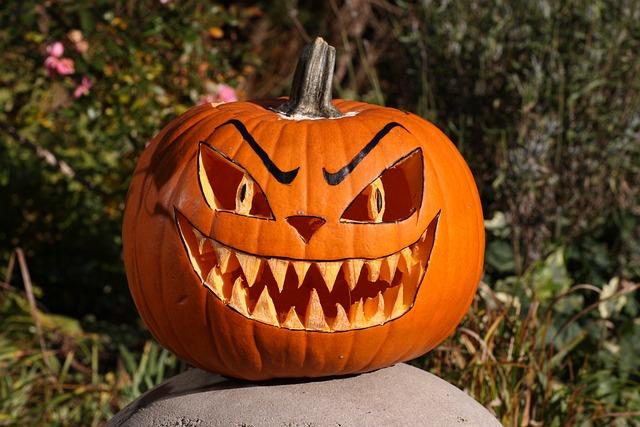 Pumpkin, Helloween, Autumn, Orange, Face, Vegetables