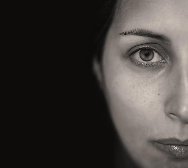 Portrait, People, Face, Adult, Eye, Woman, Studio