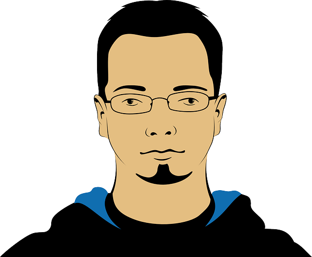Man, Person, Avatar, Face, Head, Portrait, Glasses
