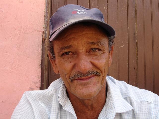 Cuba, Man, Portrait, Face