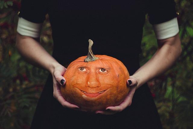 Halloweenkuerbis, Pumpkin Face, Face, Pumpkin
