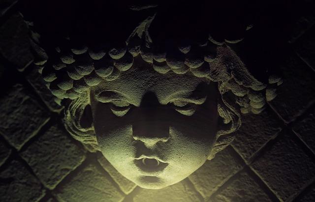 Creepy, Statue, Face, Horror, Stone, Scary