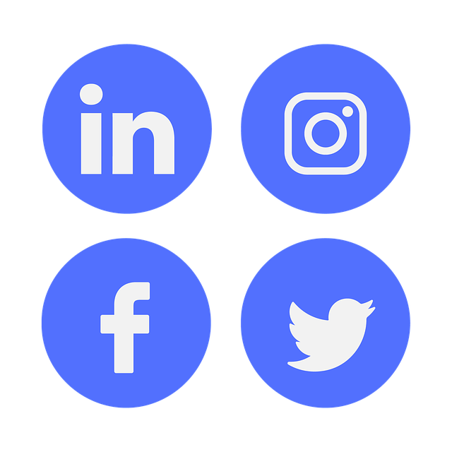 Icon, Social Media, Linkedin, Facebook, Twitter