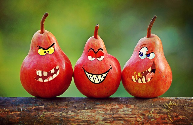 Pears, Faces, Grimassen, Humor, Tooth, Eyes, Comic