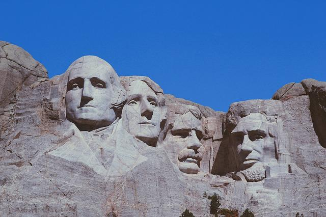 Mount Rushmore, Presidents, Usa, Rock, Faces, Portraits