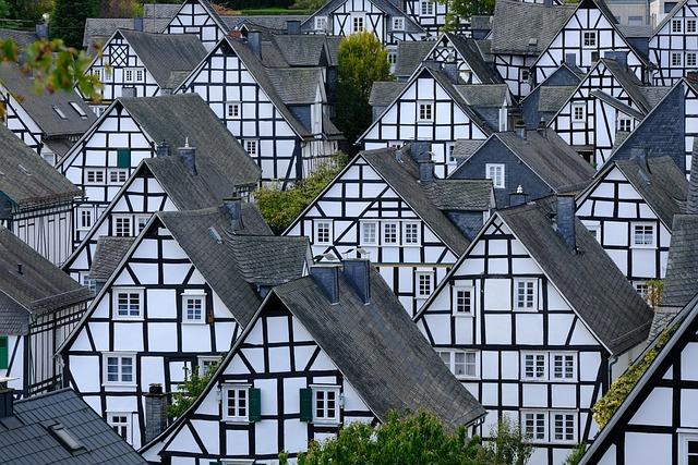 Freudenberg, Fachwerkhäuser, Truss, Historic Old Town