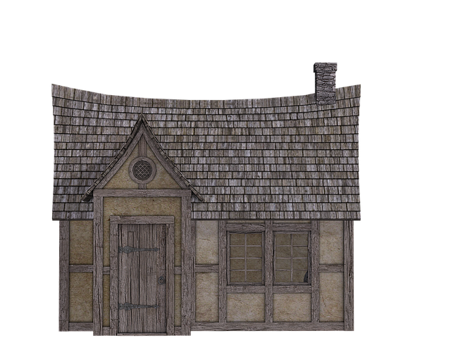 House, Fachwerkhaus, Truss, Old House, Isolated