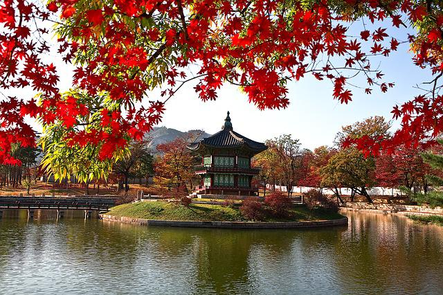 Facing Garden, Gyeongbok Palace, Cultural Property