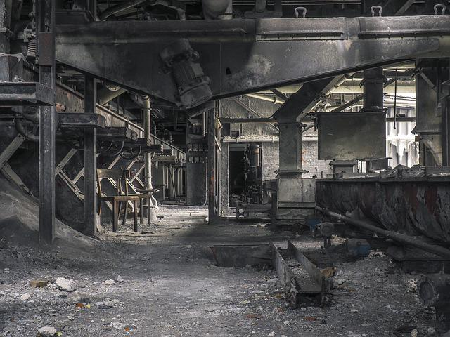 Lost Places, Factory, Industry, Hall, Ruin, Abandoned