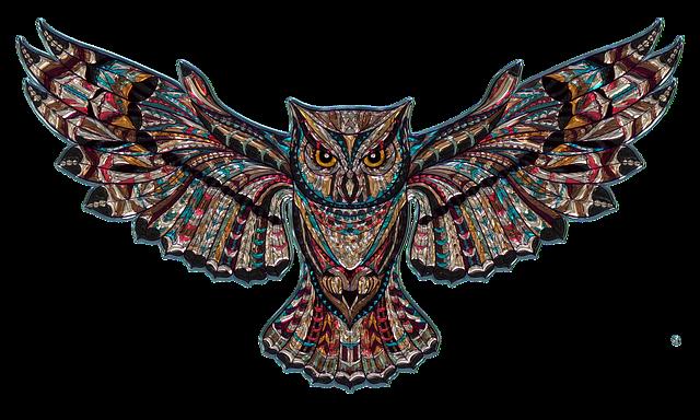 Owl, Metallizer, Png, Art, Glass, Factory