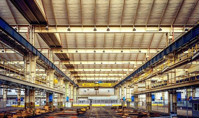 Lost Places, Empty, Factory Building