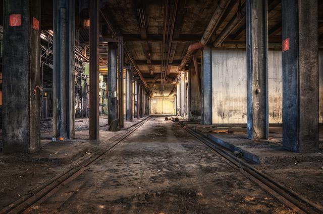 Abandoned Places, Factory, Hall, Industry, Pforphoto