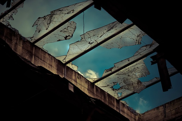 Lost Places, Factory, Old, Leave, Industrial Building
