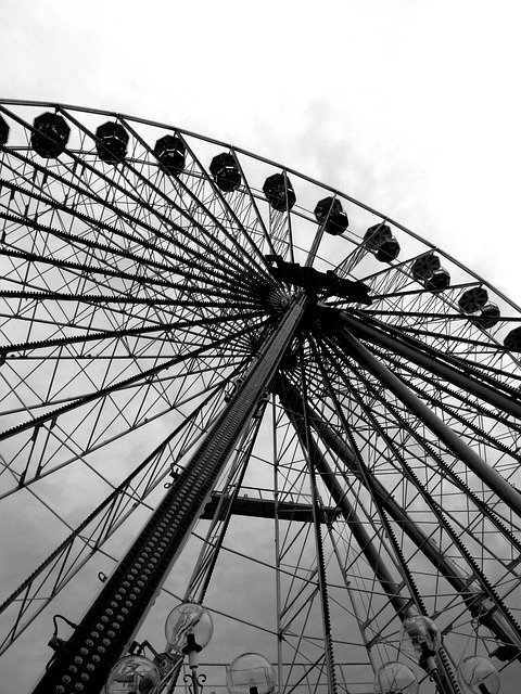 Ferris Wheel, Fair, Measurable Space