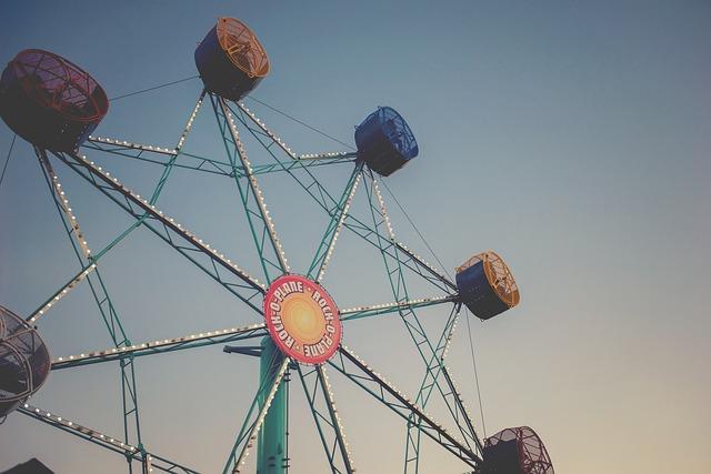 Life, Beauty, Scene, Ride, Fun, Fair, Color