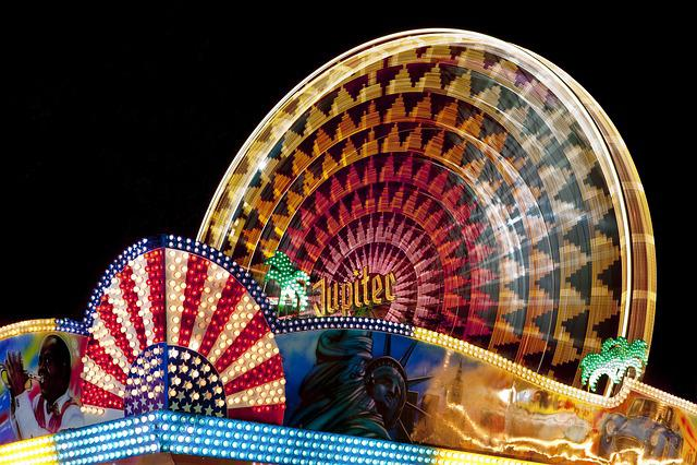 Fair, Fairground, Ferris Wheel, Folk Festival