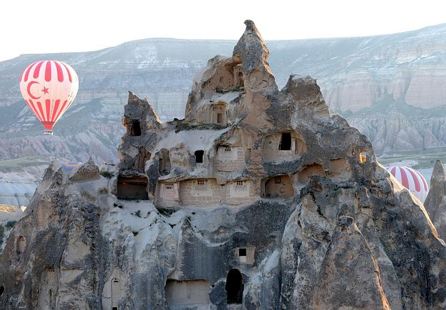 Hot-air Ballooning, Cappadocia, Turkey, Fairy Chimneys