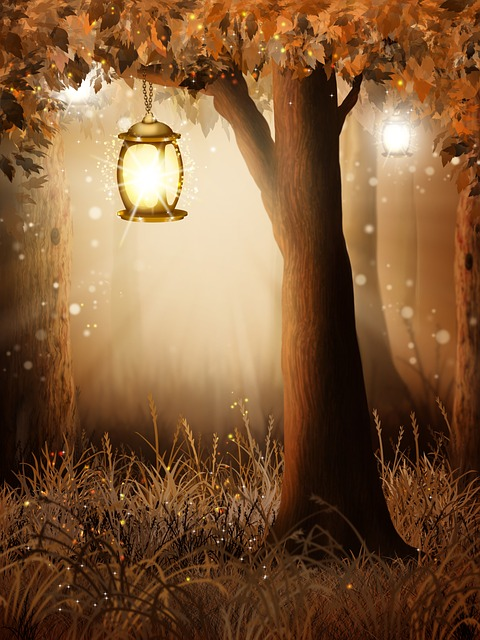Background, Autumn, Landscape, Forest, Fairy Tale