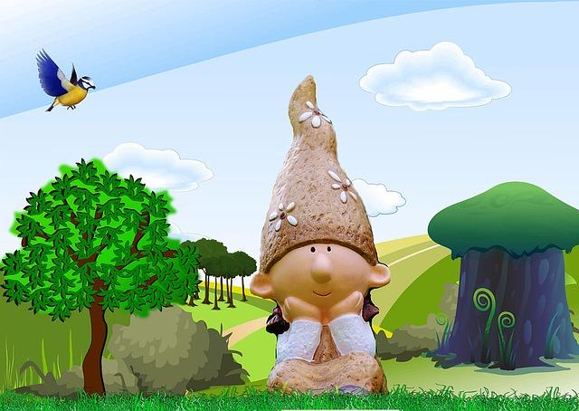 Leprechaun, Fairy Tale, Fantasy, Magic, Nature, Trees