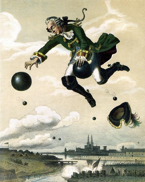 Baron Munchausen, Tall Tales, Storyteller, Fairy Tales