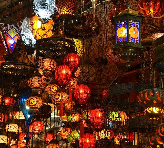 Orient, Bazar, Lamps, Istanbul, Turkey, Fairy Tales