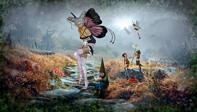 Fantasy, Fairy Tales, Elf, Composing, Nature, Landscape