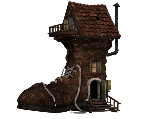 Shoe, Boots, Home, Boots House, Fantasy, Fairy Tales