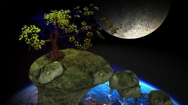 Meteorite, Satellite, Space, Fairy Tales, Travel