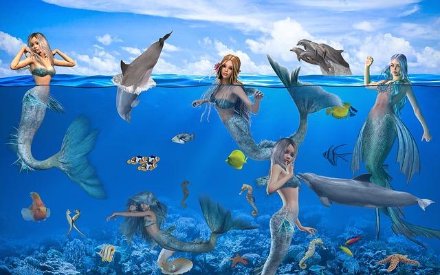 Fantasy, Mermaids, Mystical, Fairy Tales