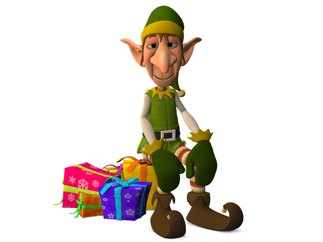 Eleven, Figure, Gifts, Fairytale, Ears, Christmas